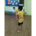 more hula hooping!