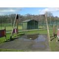Mrs Stokes took new park photos! Swings...