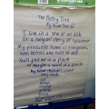 group shape poem - a tree