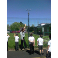 We have been checking the weather station