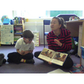 Mrs Stokes is a very dramatic story teller!