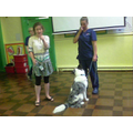 We had some visitors from Pets At Home