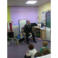 Farmer Roy came to talk to us about farming