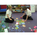 In maths, we played maths games