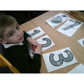 I am learning to form numerals
