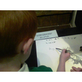 We wrote our names using a quill and ink