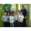 1A in their spotty clothes for Children In Need
