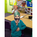 Learning a Sikh story in RE