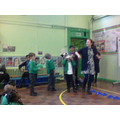 We showed our problem solving in assembly
