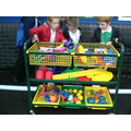 ...then the toy trolley...