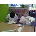 We are making a model of a detached house