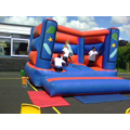 Next up - the bouncy castle
