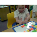 We used magnetic letters to rhyme!