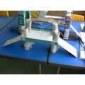 I wanted to make a suspension bridge
