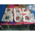 We painted our clay house tiles
