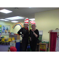 Mrs Stokes and Mrs Cranley and their tails!