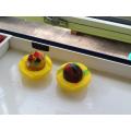 Busy workshop decorating dragon eggs