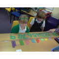 We can order numerals and sets 1-9