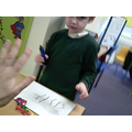 I am learning to record numbers using my own marks