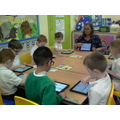 Then we did some coding using Scratch Jr