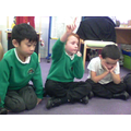 We're working hard on our number skills