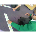 We played a counting on game in maths