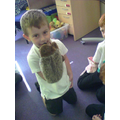 I helped this hedgehog to talk!