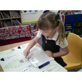 I can count spots and write the correct number