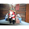 We went to visit Santa!
