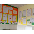 Careers and aspirations display