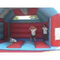 Inflatable fun at the Summer Fair
