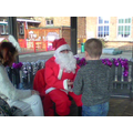 Here I am meeting Father Christmas