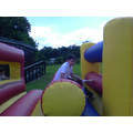 On Thursday, we had a go on the inflatables!