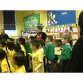 We had a workshop with the poet