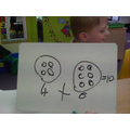 We selected 2 numicon and added them