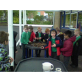 We all had a go at making a dam in a pair/3