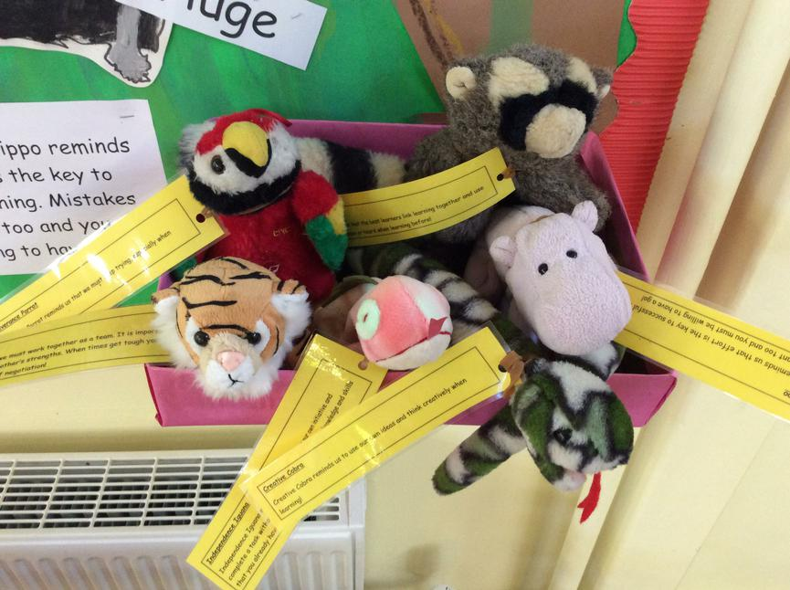 Introducing our cuddly learning characters