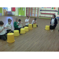 Mrs Stokes taught us a new beat