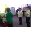 And Katie and Jack had to entertain themselves!