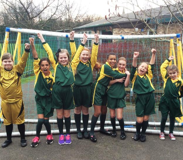 Girls' Football Team 2015