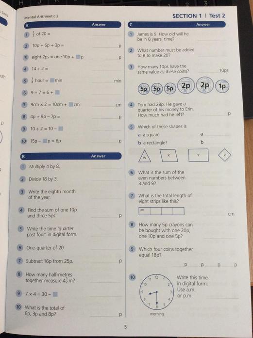 Maths Task 1
