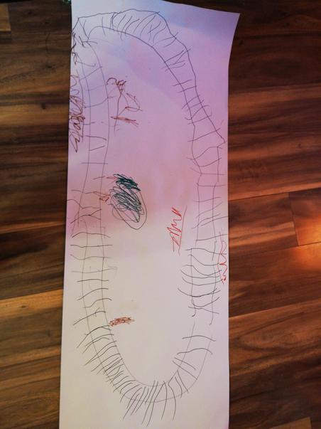 Iggy's train track picture