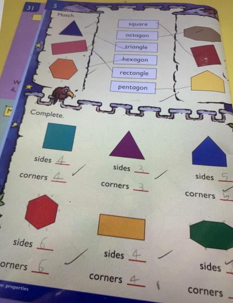 2D shape maths