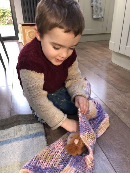 Warming teddy investigation