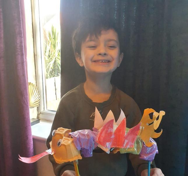 Zack's super dragon!