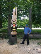 Find the Bee Sculpture in Longford Park