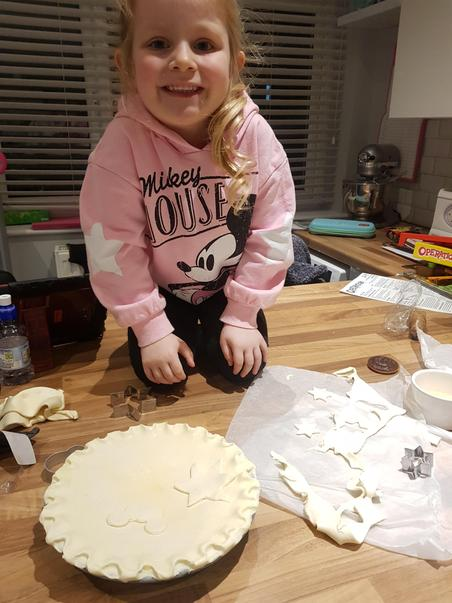 Orlagh has been baking