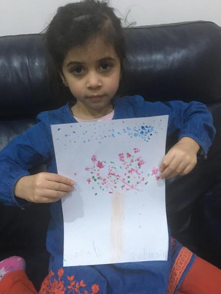 Sarah's cherry blossom picture