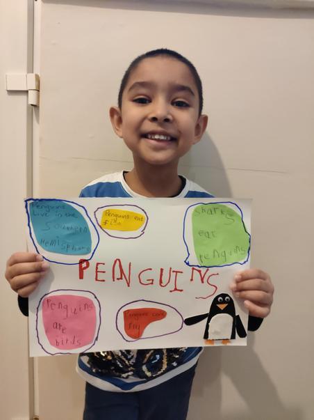 Muhammad Yusuf's penguin poster