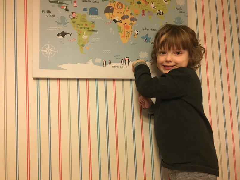 Finding where penguins live